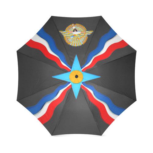 Assyrian Umbrella II Foldable Umbrella (Model U01)