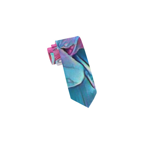 wonderful floral 25A  by FeelGood Classic Necktie (Two Sides)