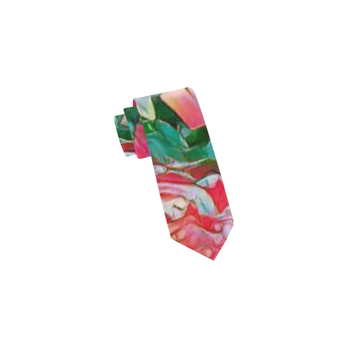 wonderful floral 24B  by FeelGood Classic Necktie (Two Sides)