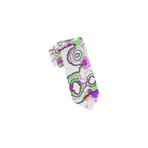 Abstract Pattern Mix 5B by FeelGood Classic Necktie (Two Sides)