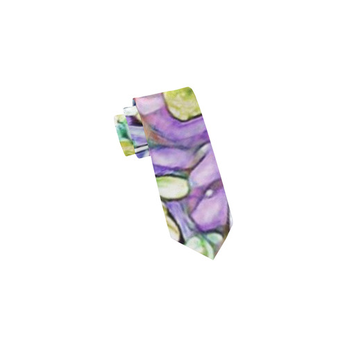 lovely floral 31E by FeelGood Classic Necktie (Two Sides)