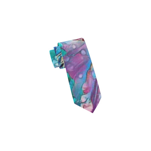 wonderful floral 22B  by FeelGood Classic Necktie (Two Sides)