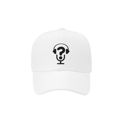 Alternative FAQs (Black on White) Dad Cap