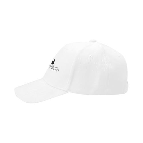 Alternative FAQs 2 (Black on White) Dad Cap