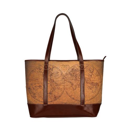 Old world map tote handbag tote handbag model 1642 id d2002415 old world map tote handbag tote handbag model 1642 gumiabroncs Images