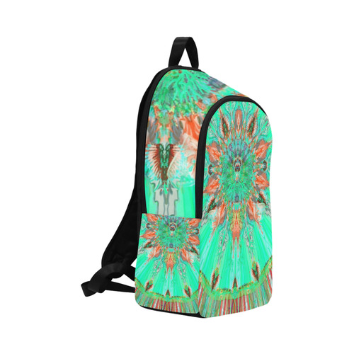life colors 8v Fabric Backpack for Adult (Model 1659)