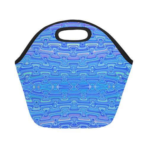 infinity tiles Neoprene Lunch Bag/Small (Model 1669)
