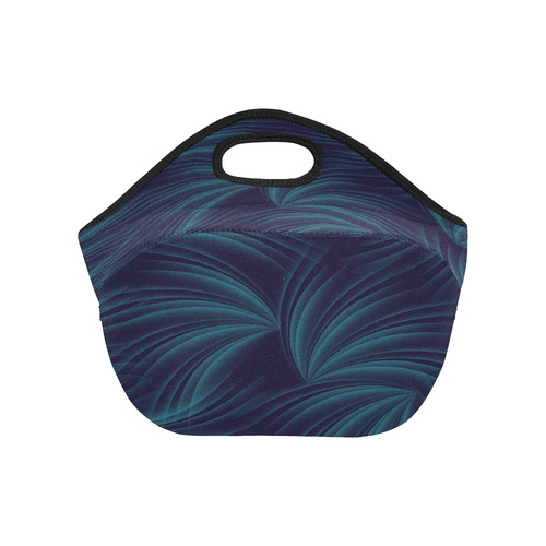 feathers in the wind Neoprene Lunch Bag/Small (Model 1669)