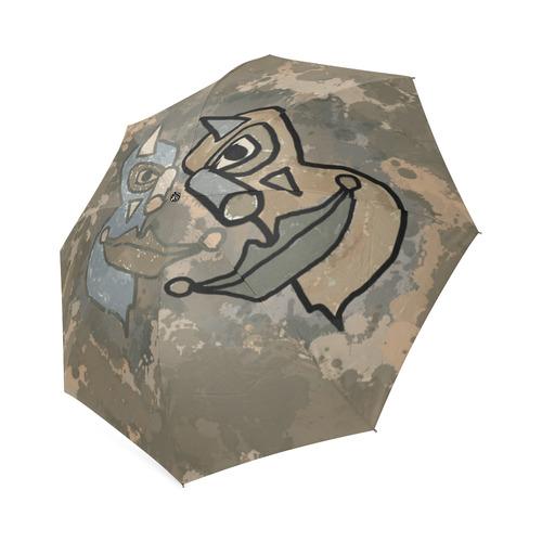 Wild Clowns Foldable Umbrella (Model U01)