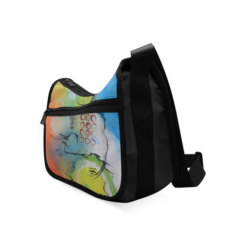 Flying in the Clouds Crossbody Bags (Model 1616)