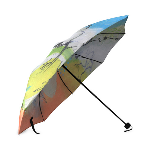 Flying in the Clouds Foldable Umbrella (Model U01)