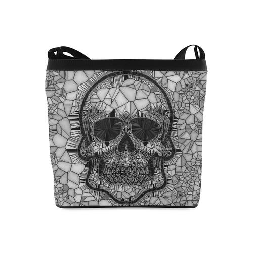 Glass Mosaic Skull Black By Jamcolors Crossbody Bags Model 1613