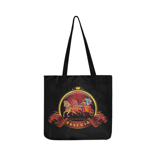 Assyrian Warrior Toe Bag Reusable Shopping Bag Model 1660 (Two sides)