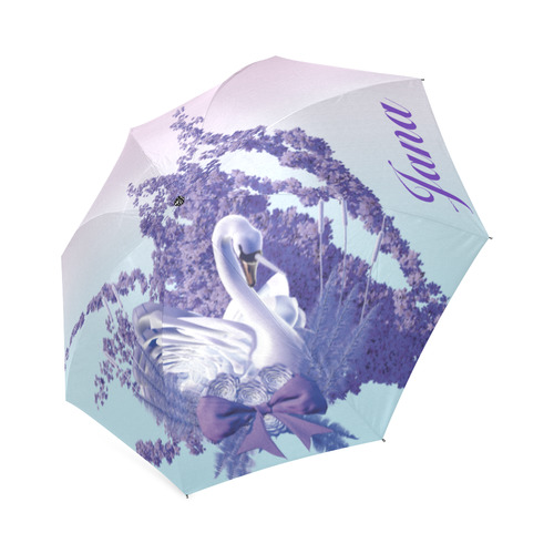 mystic swan for Jana Foldable Umbrella (Model U01)