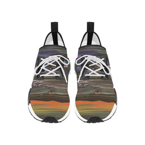 Night Walk Large Women's Draco Running Shoes (Model 025)