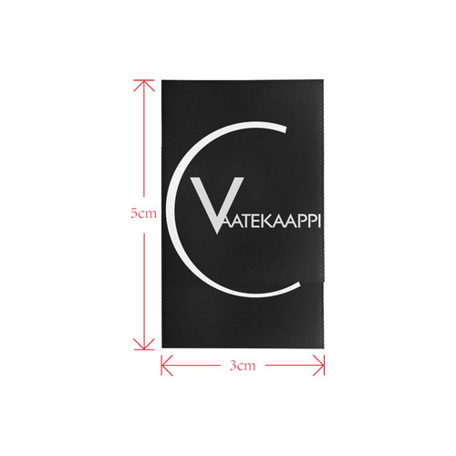 Vaatekaappi Private Brand Tag on Shoes Inner (3cm X 5cm)