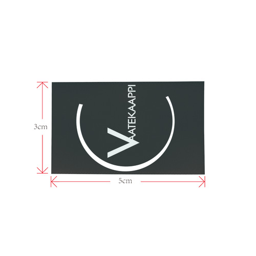 Vaatekaappi Private Brand Tag on Shoes Tongue  (5cm X 3cm)