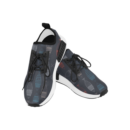abstract fish Men's Draco Running Shoes (Model 025)