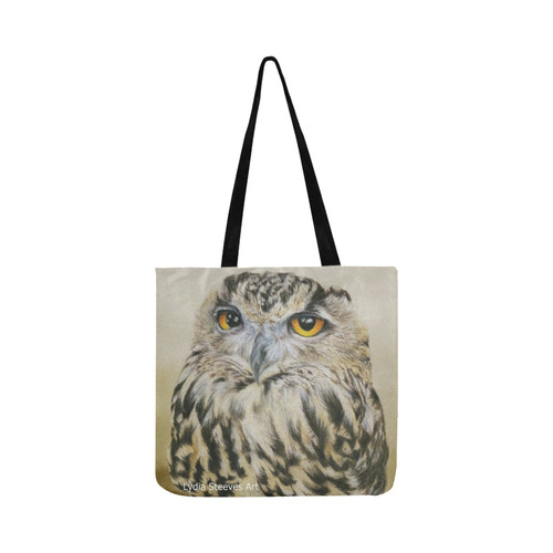 Hooty Reusable Shopping Bag Model 1660 (Two sides)