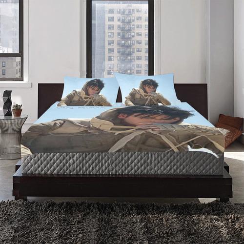 Full Numan bed set 3-Piece Bedding Set