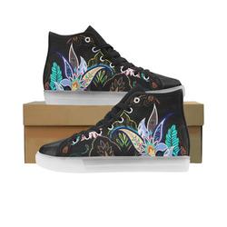 3c2793181b24 paisley pattern honey Custom Light Up Men s Shoes (Model 045)