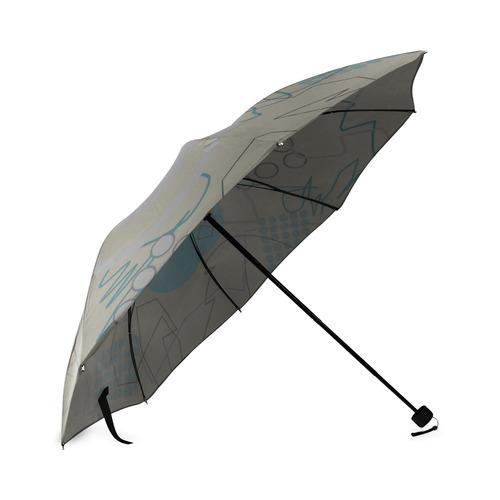 Abstract 8 Foldable Umbrella (Model U01)