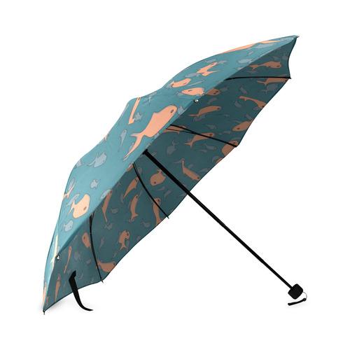 Lots of Fish Foldable Umbrella (Model U01)