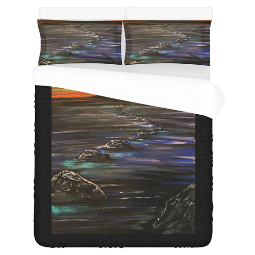 Night Walk 3-Piece Bedding Set