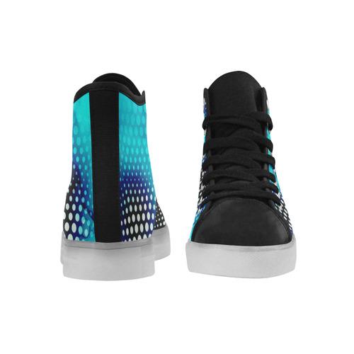 """Ice Storm"" Custom Light Up Women's Shoes (Model 045)"