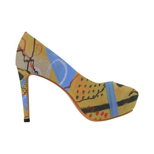 Just Above the Line Women's High Heels (Model 044)