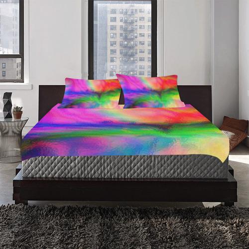 Water Color 3-Piece Bedding Set