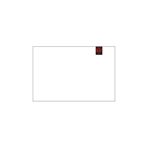 DF Rose Skull Logo Private Brand Tag on Area Rug (4cm X 5cm)