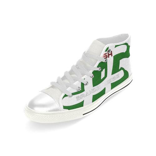 Hash Branded Men's Classic High Top Canvas Shoes (Model 017)