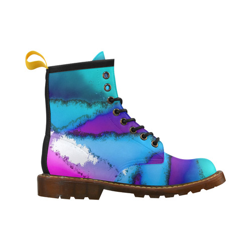 abstract fantasy 29B by FeelGood High Grade PU Leather Martin Boots For Men Model 402H