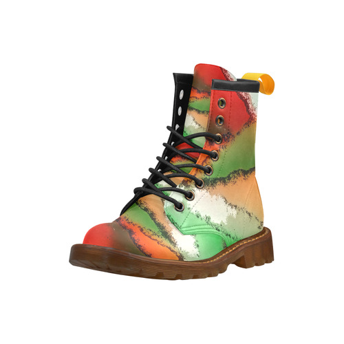 abstract fantasy 29A by FeelGood High Grade PU Leather Martin Boots For Men Model 402H