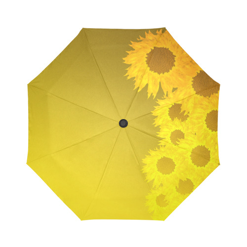 sunflower Auto-Foldable Umbrella (Model U04)