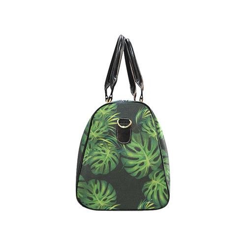 Tropical black New Waterproof Travel Bag/Small (Model 1639)