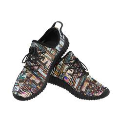 Grus Men's Breathable Woven Running Shoes (Model 022)