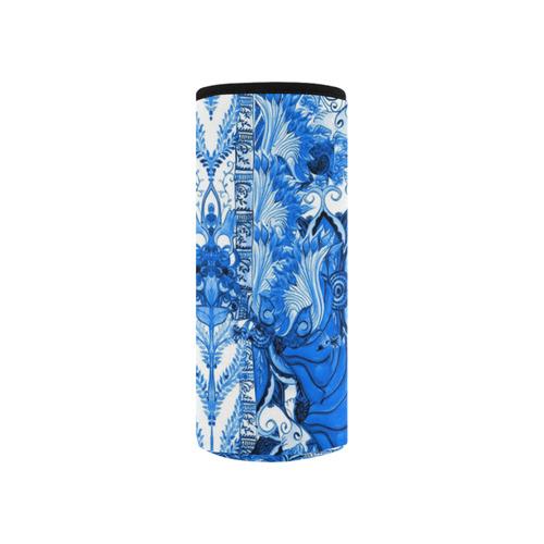 love and prosperity 5 v Neoprene Water Bottle Pouch/Small