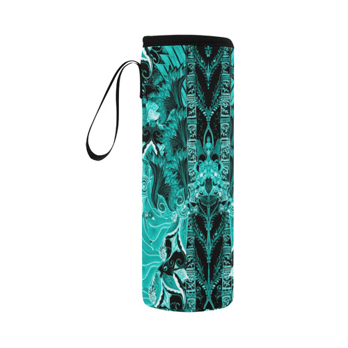 love and prosperity 7 v Neoprene Water Bottle Pouch/Large