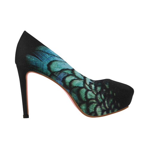 peacock Women's High Heels (Model 044)