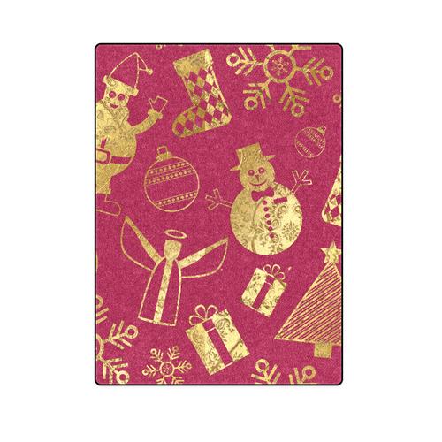"""Chrismas Ornaments Blanket 58""""x80"""""""