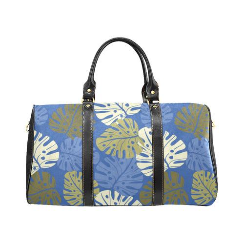 Tropical Blue New Waterproof Travel Bag/Small (Model 1639)