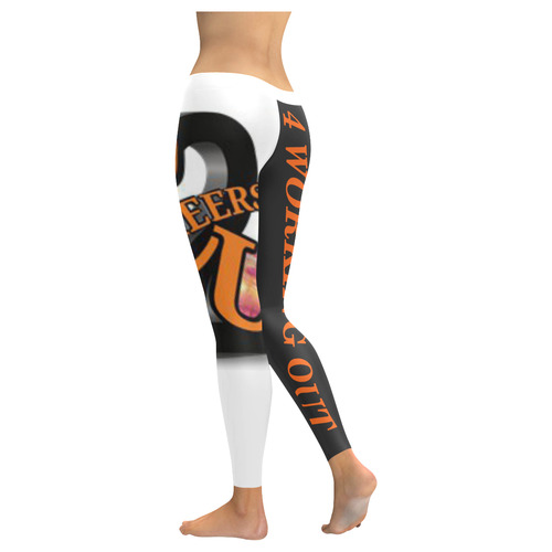 C2U 4 WORKING OUT Low Rise Leggings (Invisible Stitch) (Model L05)
