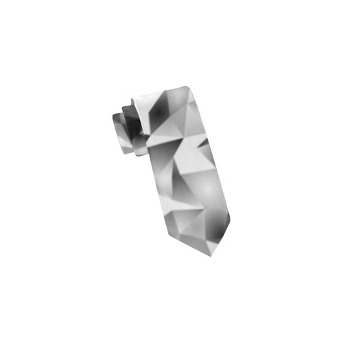 Cubist Pattern by Nico Bielow Classic Necktie (Two Sides)