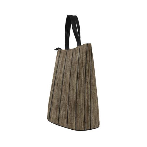wooden planks Nylon Lunch Tote Bag (Model 1670)