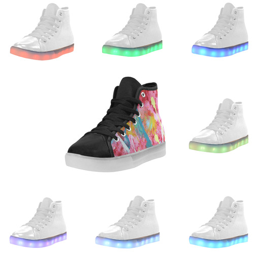 D.Dean2 Signature Custom Light Up Shoes 07 Custom Light Up Women's Shoes (Model 045)