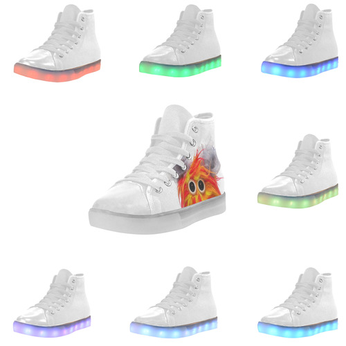 Cluck Cluck & Twitchy Custom Light Up Women's Shoes (Model 045)