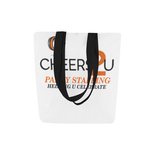 logo CHEERS2U Canvas Tote Bag (Model 1657)