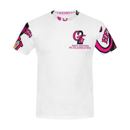 WHTBELIEVESUPPORTMEN All Over Print T-Shirt for Men (USA Size) (Model T40)